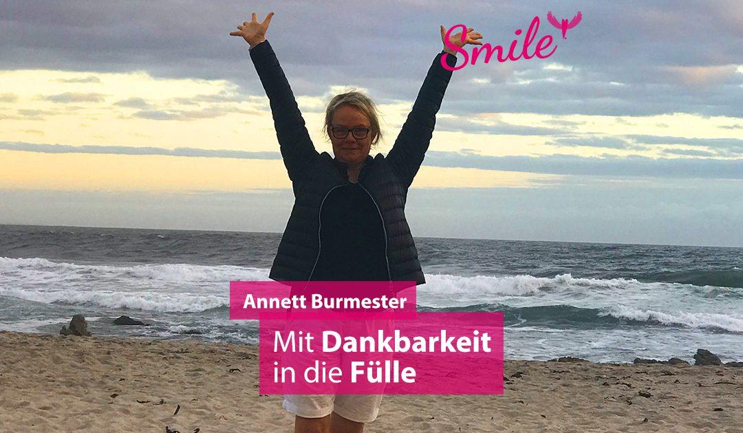 annett burmester podcast smile glücklich werden