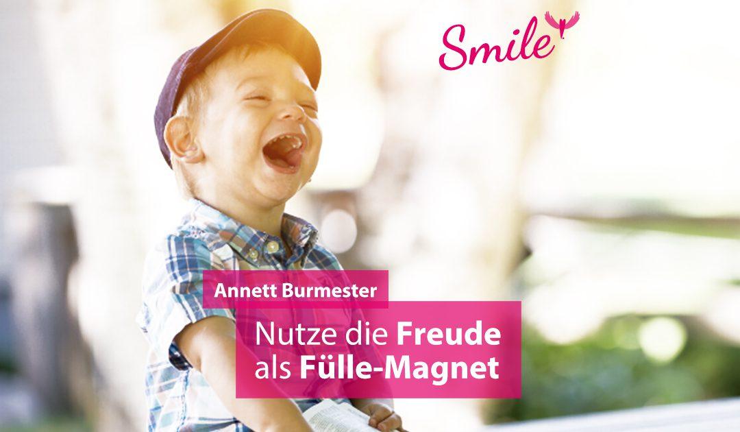 annett burmester freude potdcast smile