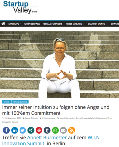 annett burmester interview startupvalley