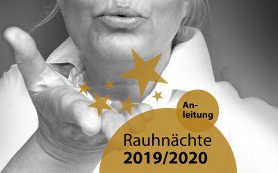 Rauhnächte 2019 / 2020 – Anleitung Ritual | 048