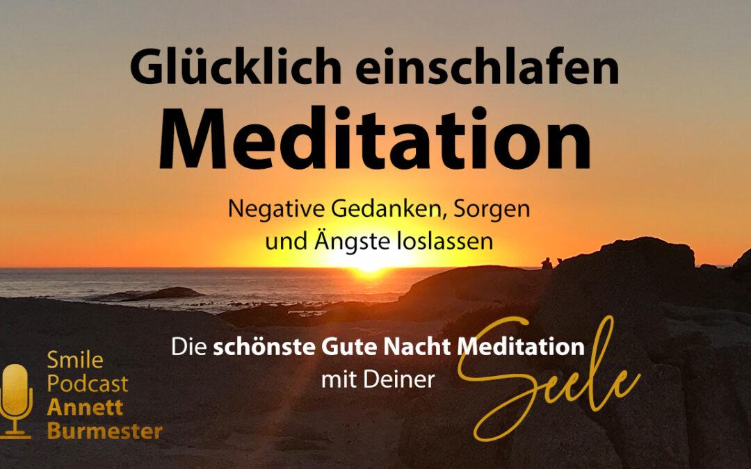 glücklich einschlafen meditation